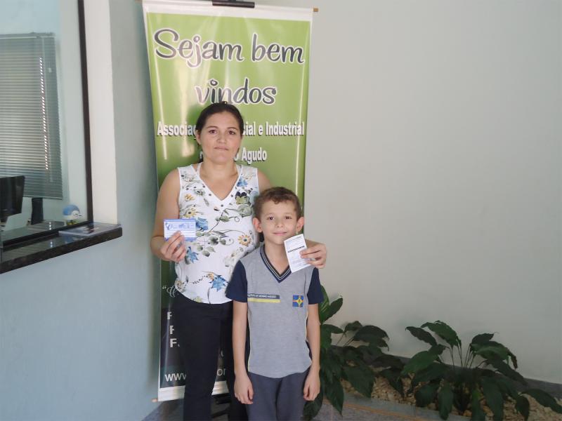 Empresa que doou: Posto dos Agricultores - Ganhador: Matheus Henrique Souza da Silva - Empresa onde comprou: Jornal O Momento