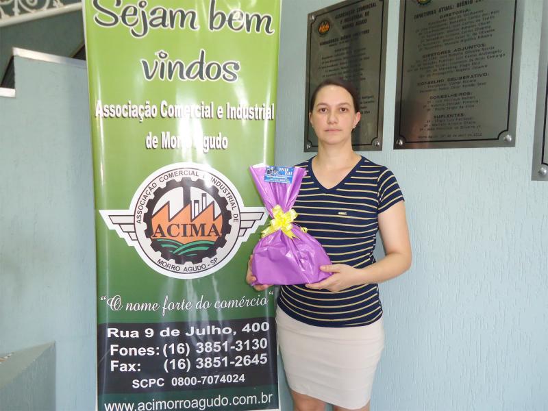 Empresa que doou: Speed Bike - Ganhadora: Elisa Anhani Augusto - Empresa onde comprou: Oficina Mecânica Três Irmãos